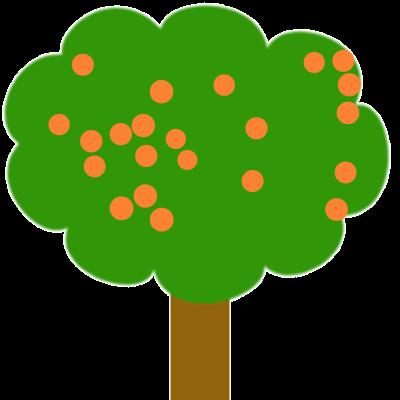 Combien d'abricots sont sur l'arbre ?