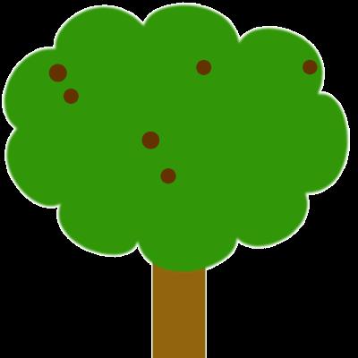 Combien de châtaignes sont sur l'arbre ?