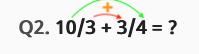 Additionner deux fractions